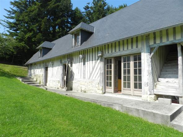 Maison à vendre à 6 km de Deauville
