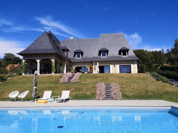 maison à vendre sur les hauteurs de Trouville
