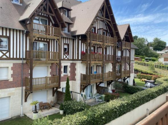Appartement à vendre en duplex à Deauville