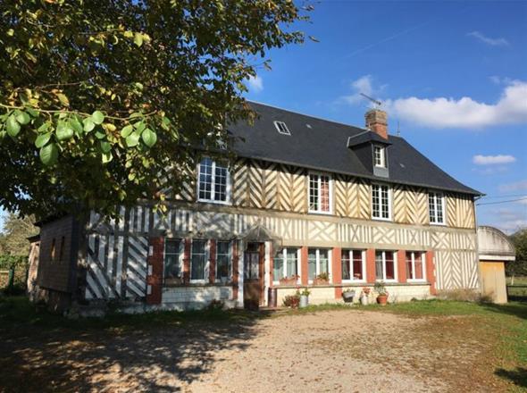 Propriété de 12H à 20 kms de Deauville