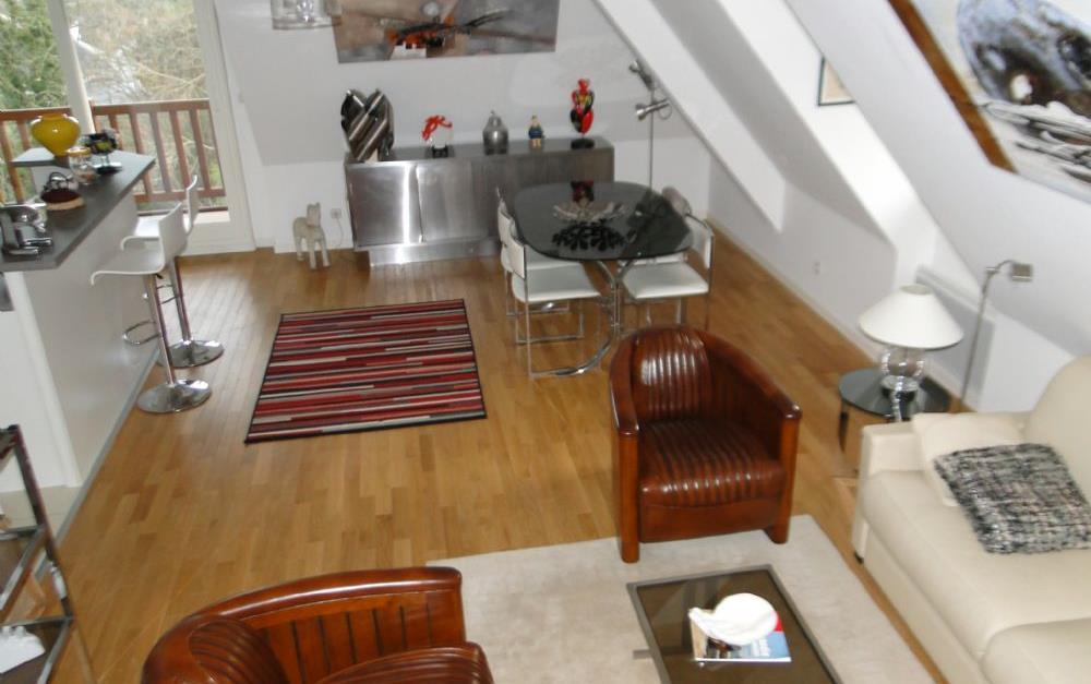 Appartement hauteurs de deauville appartement louer for Appartement atypique deauville